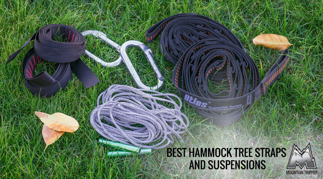 Best Hammock Tree Straps and Suspensions – 2017 Buyer's Guide